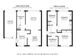 Floorplan of Redwing Close, South Croydon, Surrey, CR2 8QU