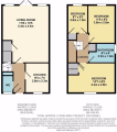 Floorplan of Mermaid Close, Gravesend, KENT, DA11 9EF