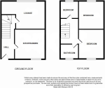 Floorplan of Hunton House, Rookery Gardens, Orpington, Kent, BR5 4BD