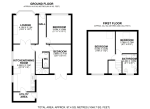Floorplan of Wenvoe Avenue, Bexleyheath, Kent, DA7 5BU